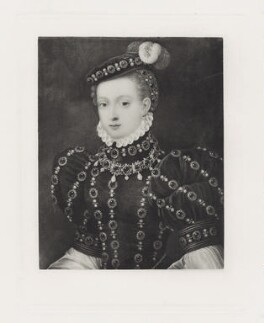 Called Mary, Queen of Scots, after Henry Bone, possibly after  Anthonis Mor (Antonio Moro) - NPG D41905