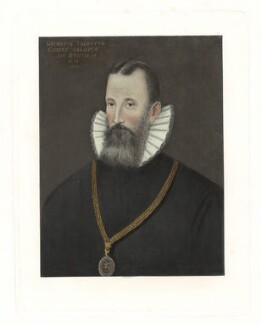 George Talbot, 6th Earl of Shrewsbury, after Unknown artist - NPG D41907