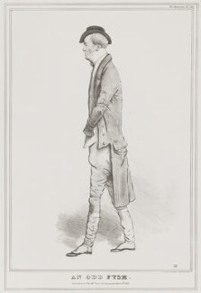 Charles Fyshe Palmer ('An Odd Fysh'), by John ('HB') Doyle, printed by  Alfred Ducôte, published by  Thomas McLean - NPG D41116