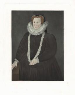 Elizabeth Talbot, Countess of Shrewsbury, after Unknown artist - NPG D41911