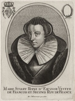 Mary, Queen of Scots, published by Balthasar Moncornet, after  Unknown artist - NPG D41916