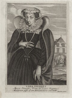 Mary, Queen of Scots, published by Alexandre Boudan, after  Unknown artist - NPG D41917