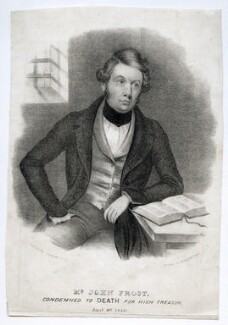 John Frost, by W. Clerk, published by  F. Glover, 1840 - NPG D42204 - © National Portrait Gallery, London