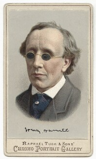 Henry Fawcett, by Raphael Tuck & Sons, after  London Stereoscopic & Photographic Company - NPG x135103