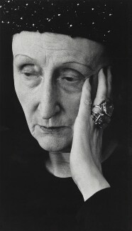 Edith Sitwell, by Rollie McKenna - NPG P1682