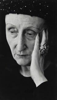 Edith Sitwell, by Rollie McKenna - NPG P1682