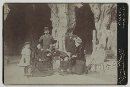 Queen Victoria on holiday with members of her family, by Numa Blanc Fils - NPG x24836