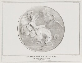 Design for a New Coinage (Arthur Wellesley, 1st Duke of Wellington; Charles Grey, 2nd Earl Grey), by John ('HB') Doyle, printed by  Alfred Ducôte, published by  Thomas McLean - NPG D41128