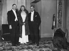 Anna Neagle and friends, by Harold Tomlin, for  Daily Herald, 23 November 1933 - NPG x135058 - © Science & Society Picture Library / National Portrait Gallery, London