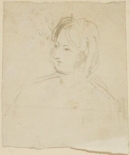 Unknown sitter, probably by Sir William Charles Ross - NPG D42208