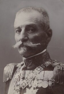 King Peter I of Serbia, by Unknown photographer - NPG x134971