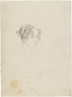 Possibly Mary Cunningham (née Calvert), probably by and after Sir William Charles Ross - NPG D42214