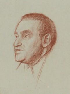 Philip Guedalla, by William Rothenstein - NPG 4802a
