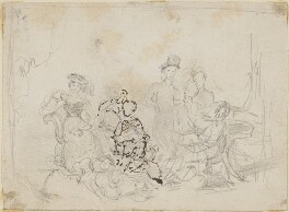Unknown sitters, probably by Sir William Charles Ross - NPG D42219