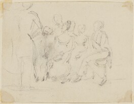 Unknown sitters, probably by Sir William Charles Ross - NPG D42224