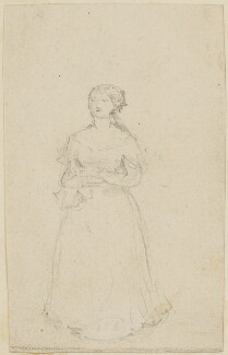 Unknown sitter, probably by Sir William Charles Ross - NPG D42225