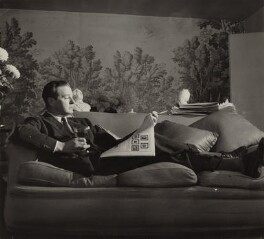 Terence Rattigan, by Unknown photographer - NPG x135109