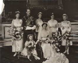 Royal Wedding Group, by Ernest Brooks, 15 October 1913 - NPG x134979 - © National Portrait Gallery, London