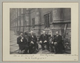Group on the Terrace of the House of Commons, by Benjamin Stone - NPG x135132