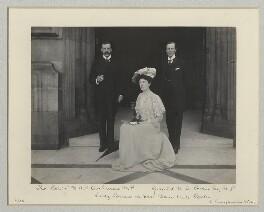 1st Baron Cochrane of Cults; Lady Wakehurst; 1st Baron Wakehurst, by Benjamin Stone - NPG x135141
