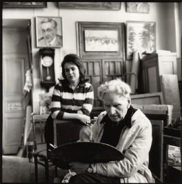 Galina Lesnikova; Martiros Saryan, by Ida Kar - NPG x135156