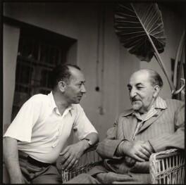 Sarkis Arutchian; Avetik Sahak Isahakyan, by Ida Kar, 1957 - NPG x135158 - © National Portrait Gallery, London