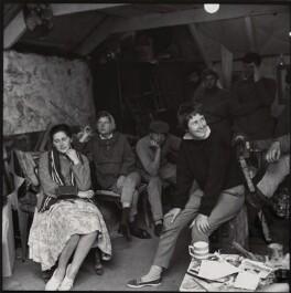 Students in Denis Mitchell's studio, by Ida Kar - NPG x135117