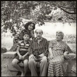 Bella Isahakyan; Avetik Isahakyan; Avetik Sahak Isahakyan; Sophie Isahakyan, by Ida Kar - NPG x135166
