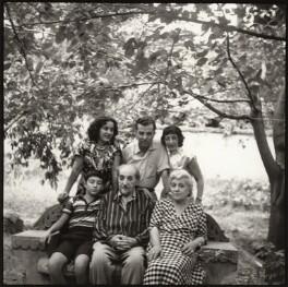 Avetik Isahakyan; Bella Isahakyan; Avetik Sahak Isahakyan; Vigen Isahakyan; Ida Kar; Sophie Isahakyan, by Ida Kar - NPG x135167