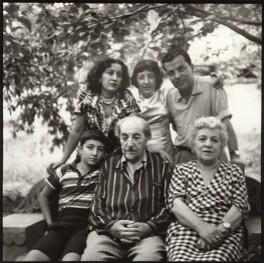 Avetik Isahakyan; Bella Isahakyan; Avetik Sahak Isahakyan; Ida Kar; Vigen Isahakyan; Sophie Isahakyan, by Ida Kar - NPG x135168