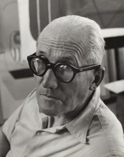 Le Corbusier, by Ida Kar - NPG x135172