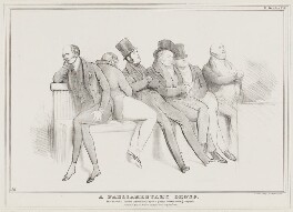 A Parliamentary Group, by John ('HB') Doyle, printed by  Alfred Ducôte, published by  Thomas McLean - NPG D41147