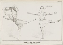 The Rival Artistes or Sketches from the King's Theatre, by John ('HB') Doyle, printed by  Alfred Ducôte, published by  Thomas McLean - NPG D41148