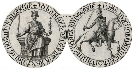 The Seal of King John from the Magna Carta, after Unknown artist - NPG D42228