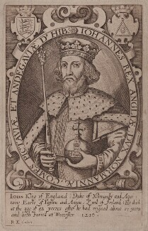King John, after Renold or Reginold Elstrack (Elstracke) - NPG D42229