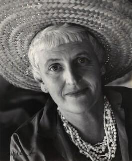 Mary Cranford ('Mollie') Hitchens (née Coates), by Ida Kar - NPG x135184