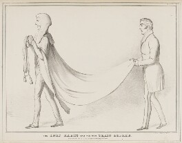 The Lord Harry and his new Train Bearer, by John ('HB') Doyle, printed by  Alfred Ducôte, published by  Thomas McLean - NPG D41157