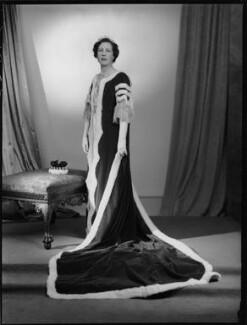 Mary Kathleen Bridgeman (née Lane-Fox), Viscountess Bridgeman, by Navana Vandyk - NPG x130448
