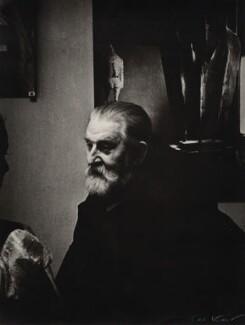 Nikolai Ivanovich Svishchov-Paola, by Ida Kar - NPG x135194