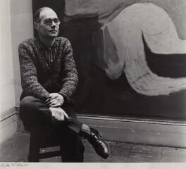 Roger Hilton, by Ida Kar, 1960 - NPG x135199 - © National Portrait Gallery, London