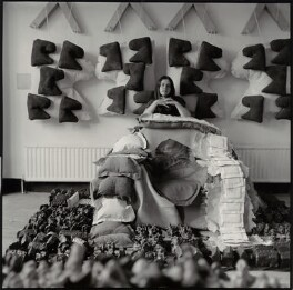 Phyllida Barlow, by John Malcolm Couzins - NPG x135234
