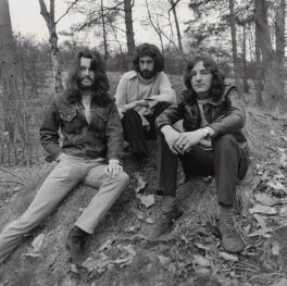 Supertramp (Richard Palmer-James; Rick Davies; Roger Hodgson), by John Malcolm Couzins - NPG x135250
