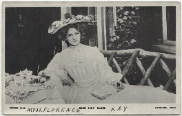 Lily Elsie, published by Davidson Brothers - NPG x135255
