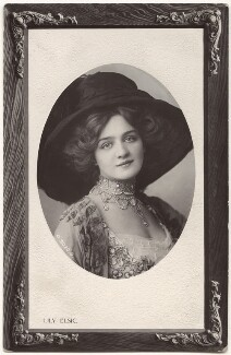 Lily Elsie (Mrs Bullough), probably by Foulsham & Banfield, mid 1900s - NPG x135261 - © National Portrait Gallery, London