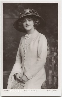 Lily Elsie (Mrs Bullough), by Foulsham & Banfield, published by  Rotary Photographic Co Ltd - NPG x135262