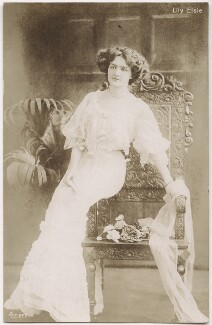 Lily Elsie, by Unknown photographer - NPG x135265