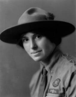 Olave St Clair Baden-Powell (née Soames), Lady Baden-Powell, by Vandyk - NPG x129933