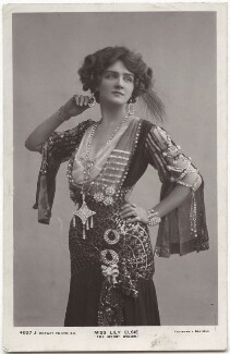 Lily Elsie (Mrs Bullough) as Sonia in 'The Merry Widow', by Foulsham & Banfield, published by  Rotary Photographic Co Ltd - NPG x135274