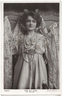 Lily Elsie (Mrs Bullough) as See See, published by Rotary Photographic Co Ltd - NPG x135277