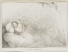 Paper Dreams (John Bull), by John ('HB') Doyle, published by  Alfred Ducôte, after  Thomas McLean - NPG D41162